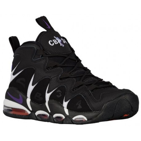 Nike Air Max CB 34 - Men's - Basketball - Shoes - Black/Team Orange/Black/Club Purple-sku:4243002