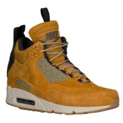 Nike Air Max 90 Sneakerboot - Men's - Casual - Shoes - Bronze/Bamboo/Blue Ribbon/Black-sku:84714700