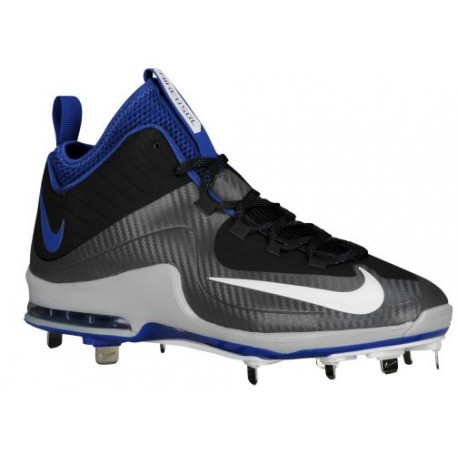 Nike Air Max MVP Elite 2 3/4 Metal - Men's - Baseball - Shoes - Black/White/Dark Grey/Rush Blue-sku:84687014