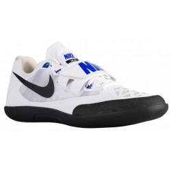 Nike Zoom SD 4 - Men's - Track - Field - Shoes - White/Black/Racer Blue-sku:85135100