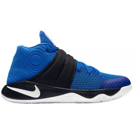 Nike Kyrie 2 - Boys' Grade School - Basketball - Shoes - Kyrie Irving - Hyper Cobalt/Metallic Silver/Black-sku:26673444