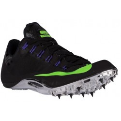 Nike Zoom Superfly R4 - Men's - Track - Field - Shoes - Black/Green Strike/Fierce Purple-sku:26626035