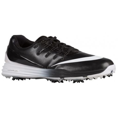 Nike Lunar Control 4 Golf Shoes - Men's Golf - Black/Black/White 19037001