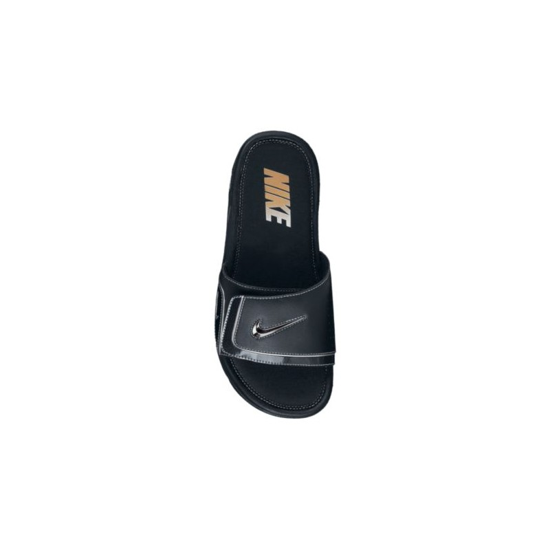 c3d257eacc66a5 ... Nike Comfort Slide 2 - Men s - Casual - Shoes - Black Metallic Silver   ...