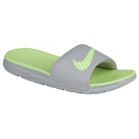 the best attitude 57eca 46449 nike benassi solarsoft 2,Nike Benassi Solarsoft Slide 2 - Women s - Casual  - Shoes - Wolf Grey Ghost Green-sku 05475030