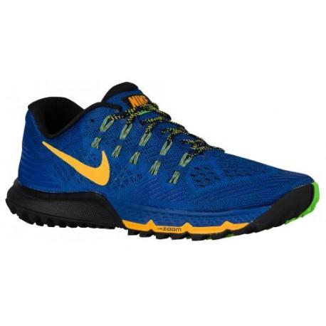 Nike Zoom Terra Kiger 3 - Men's - Running - Shoes - Game Royal/Black