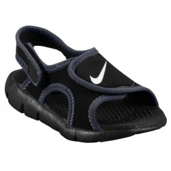 Nike Sunray Adjust 4 - Boys' Toddler - Casual - Shoes - Black/White/Anthracite-sku:86519011