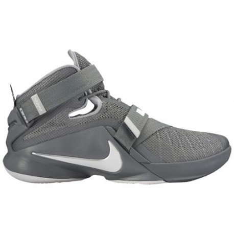 promo code 52152 bff5d Nike Zoom Soldier 9 - Men's - Basketball - Shoes - LeBron James - Cool  Grey/Dark Grey/Pure Platinum-sku:49417003