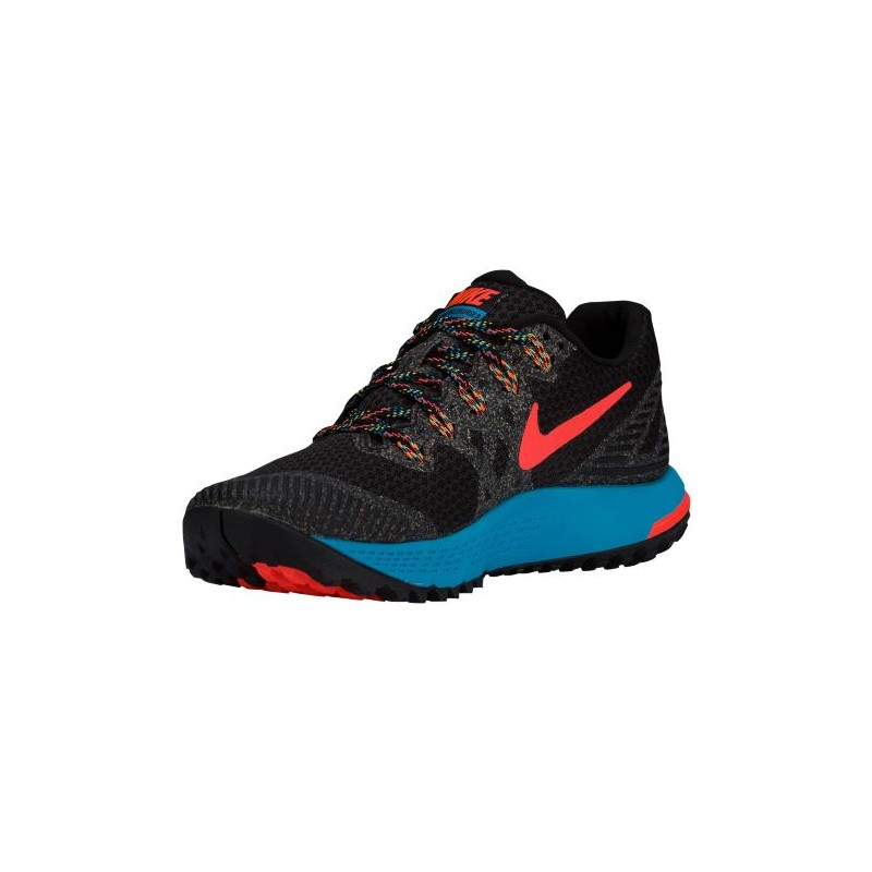 ... Nike Zoom Wildhorse 3 - Women's - Running - Shoes - Black/Blue Lagoon/  ...