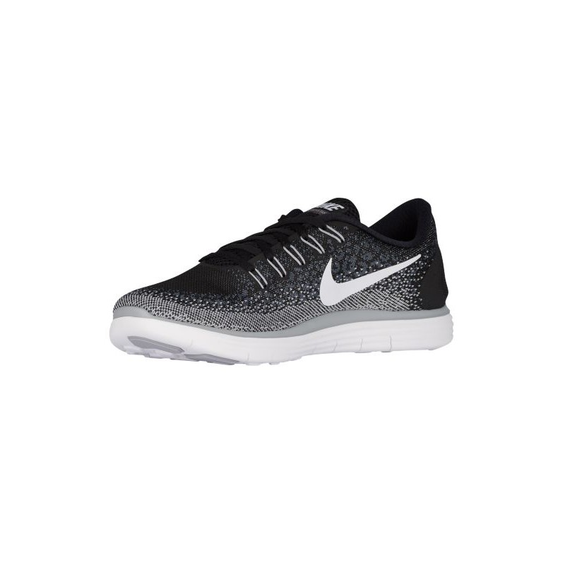 hot sale online 0d9a8 d84c9 ... Nike Free RN Distance - Men s - Running - Shoes - Black White Dark ...