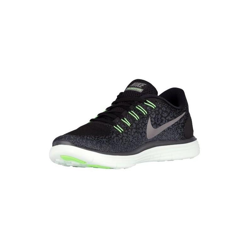 ... Nike Free RN Distance - Men's - Running - Shoes - Black/Metallic Pewter/  ...