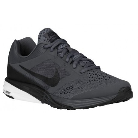 Nike Mens Tri-Fusion Running Sneakers Black/Dark Grey/White
