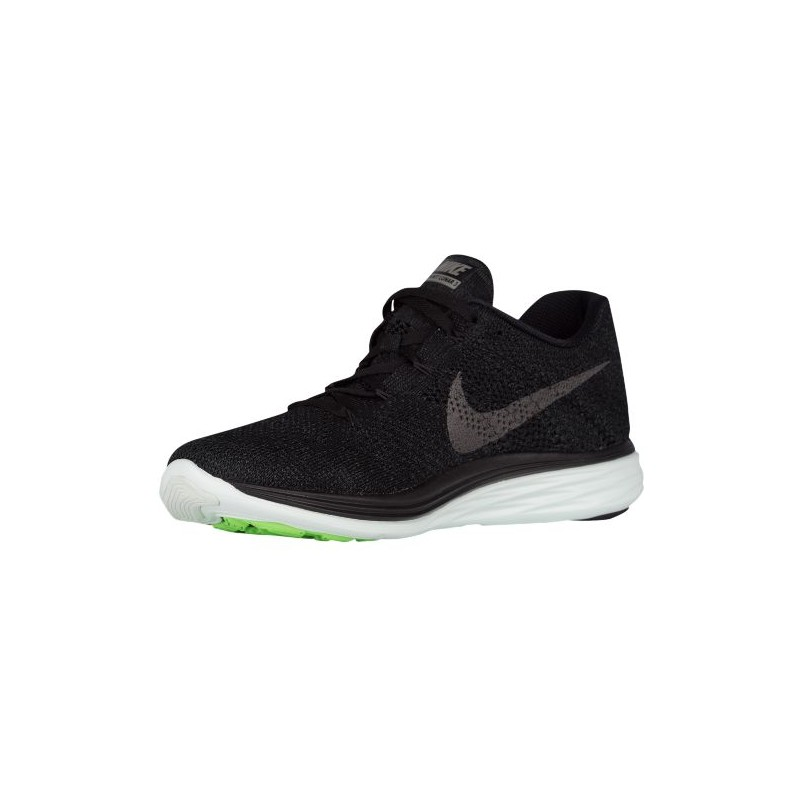nike flyknit lunar 3 nike flyknit lunar 3 men 39 s running shoes black metallic pewter. Black Bedroom Furniture Sets. Home Design Ideas