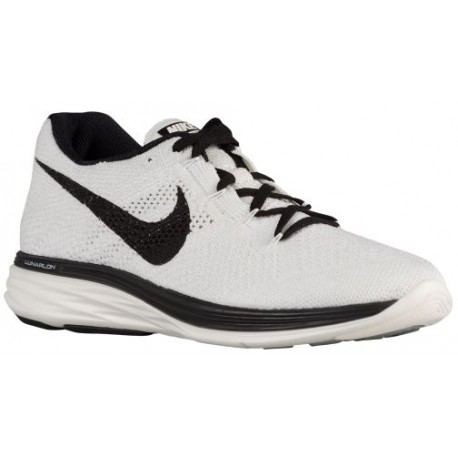 Nike Flyknit Lunar 3 - Men's - Running - Shoes - Sail/Black-sku