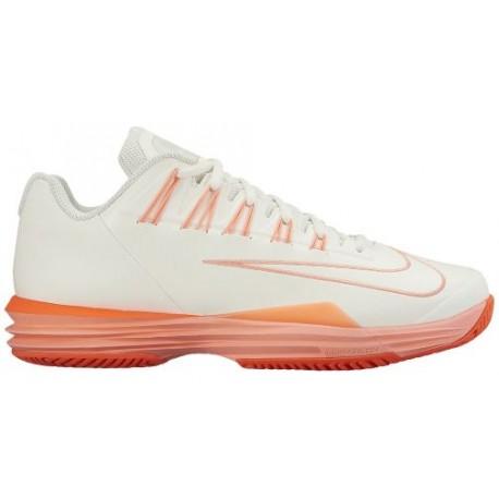 450bc3527e6b ... atomic orange metallic silver bl  nike lunar ballistec 1.5 womens  tennis shoes ...