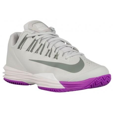 ... Purple; Nike Lunar Ballistec 1.5 - Women's - Tennis - Shoes - Night  Silver/Phantom/ ...