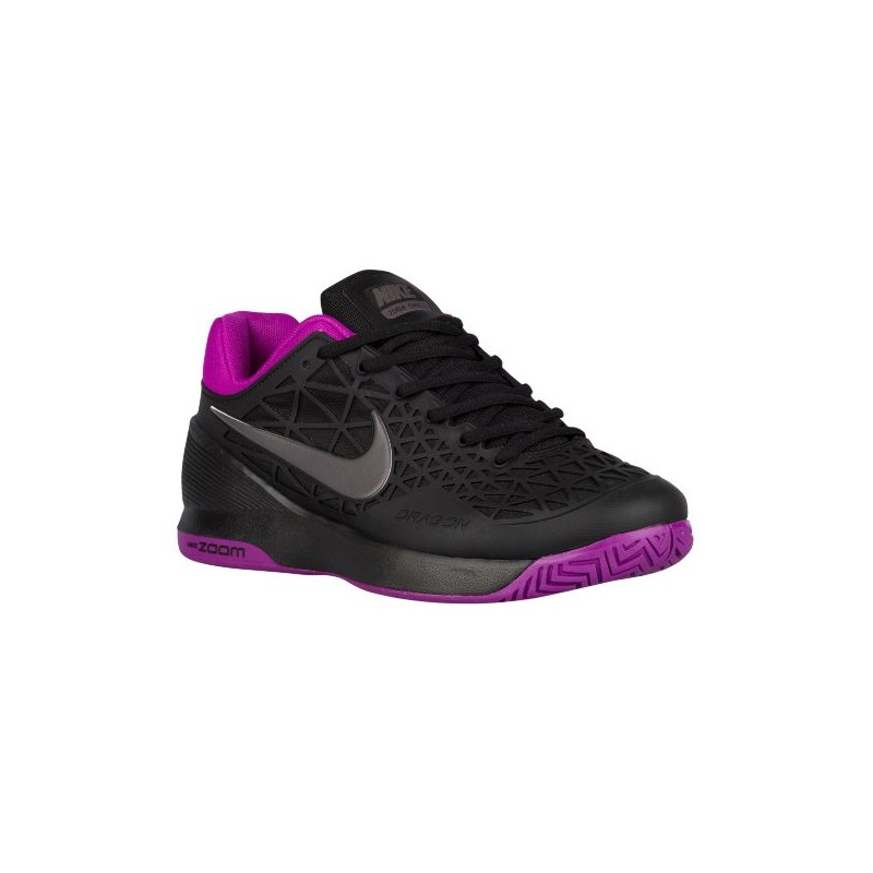 Nike Zoom Cage 2 - Women's - Tennis - Shoes - Black/Vivid Purple/ ...