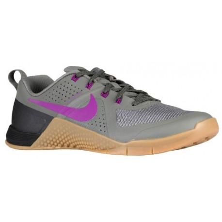 Nike MetCon 1 - Men's - Training - Shoes - Tumbled Grey/Vivid Purple/