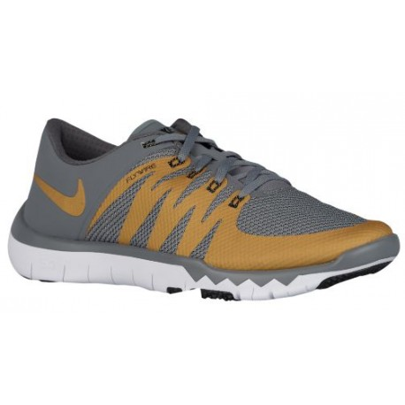 Nike Free Trainer 5.0 V6 - Mens Or Blanc