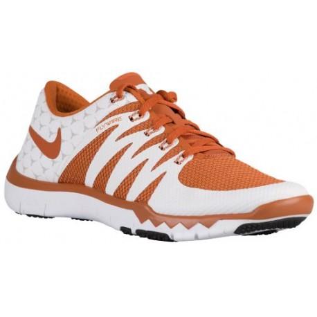 reputable site a3292 33191 Nike Free Trainer 5.0 V6 - Men's - Training - Shoes - White/Desert  Orange/Light Ash Grey-sku:23939800