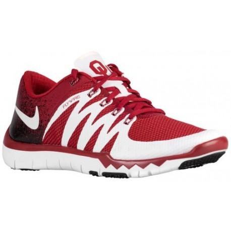more photos 67510 9d5dd Nike Free Trainer 5.0 V6 - Men's - Training - Shoes - Team  Crimson/White-sku:23939610