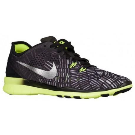 buy online cbde1 e2f19 Nike Free 5.0 TR Fit 5 - Women's - Training - Shoes -  Black/Volt/Black-sku:04695017