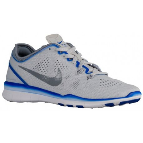 Nike Free 5.0 TR Fit 5 - Women's - Training - Shoes - Pure Platinum/Racer Blue/White/Stealth-sku:4674010