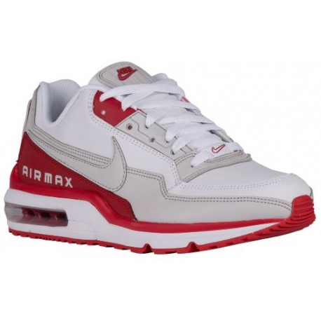 Nike Air Max LTD - Men's - Running - Shoes - White/Varsity Red/Neutral Grey-sku:87977106