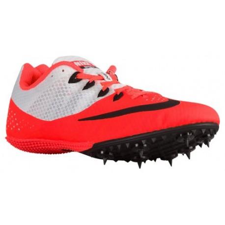 Nike Zoom Rival S 8 - Men's - Track - Field - Shoes - Total Crimson/Black/White-sku:06554800