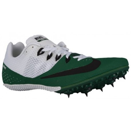 Nike Zoom Rival S 8 - Men's - Track - Field - Shoes - Gorge Green/Black/White-sku:06554301
