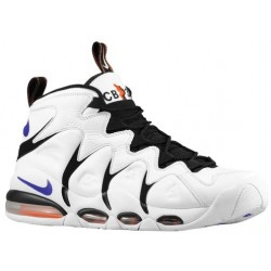 Nike Air Max CB 34 - Men's - Basketball - Shoes - White/Varsity Purple/Black/Orange Blaze-sku:14243100