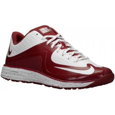 wholesale dealer 03ed4 6d58b maroon nike shoes,Nike Lunar MVP Pregame 2 - Men s - Baseball - Shoes -  White Maroon-sku 84690160