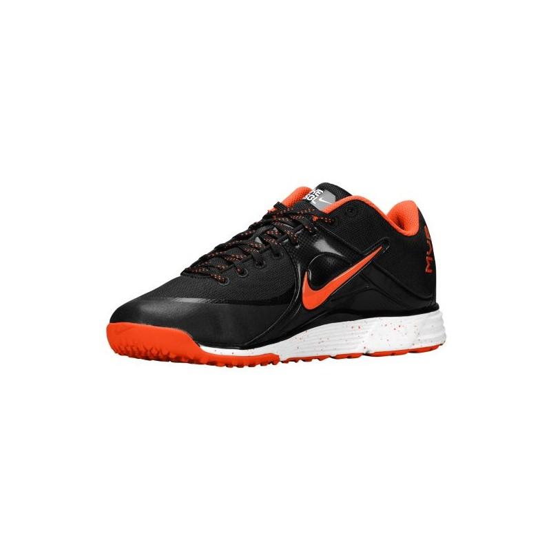 Orange Nike Youth Basketball Shoes