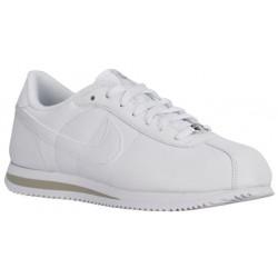 Nike Cortez - Men's - Running - Shoes - White/White/Light Zen Grey-sku:16418113