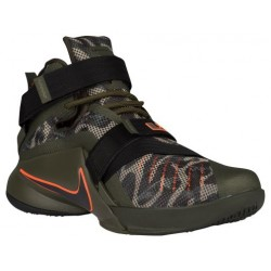 Nike Zoom Soldier 9 - Men's - Basketball - Shoes - LeBron James - Cargo Khaki/Black/Sequoia-sku:49490303