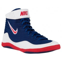 Nike Inflict 3 - Men's - Wrestling - Shoes - Deep Royal/University Red/White-sku:25256461