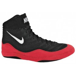 Nike Inflict 3 - Men's - Wrestling - Shoes - Black/White/Game Red-sku:25256014