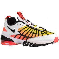 Nike Air Max 120 - Men's - Training - Shoes - White/Hyper Orange/Optic Yellow/Black-sku:9857100