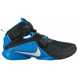Nike Zoom Soldier 9 - Men's - Basketball - Shoes - LeBron James - Black/White/Soar-sku:49490014