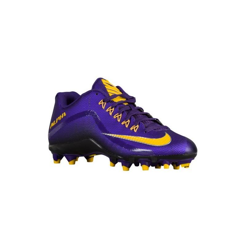Nike Alpha Pro 2 TD - Men's - Football - Shoes - Court Purple/Black ...