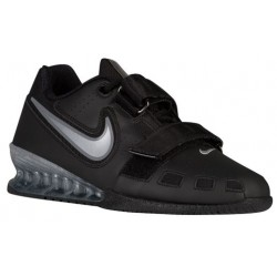 Nike Romaleos II Power Lifter - Women's - Training - Shoes - Black/Metallic Silver-sku:20534001
