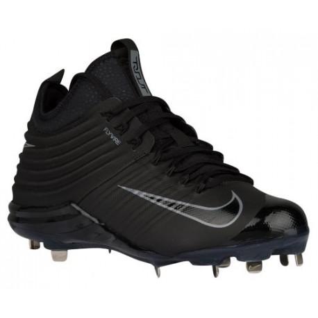 half off c67f4 f0171 Nike Lunar Trout 2 - Men's - Baseball - Shoes - Mike Trout -  Black/Black/Cool Grey-sku:07127002
