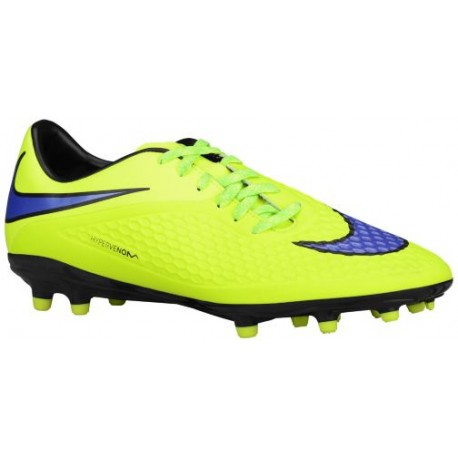 Nike Hypervenom Phelon FG - Men's - Soccer - Shoes - Volt/Hot Lava/