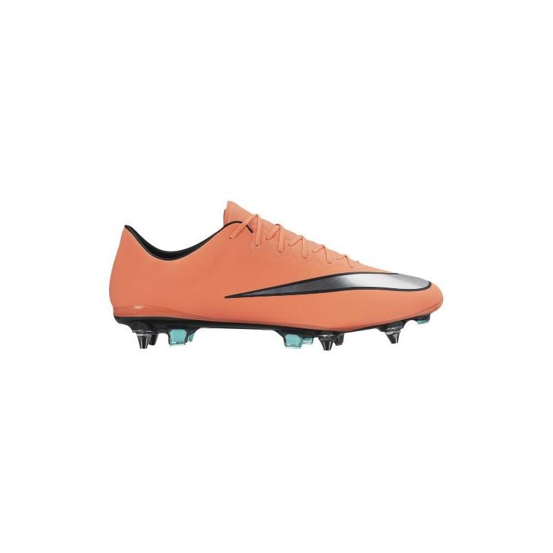 watch ec371 6852d Nike Mercurial Vapor X SG PRO - Men's - Soccer - Shoes - Bright Mango/Hyper  Turquoise/Metallic Silver-sku:48555803