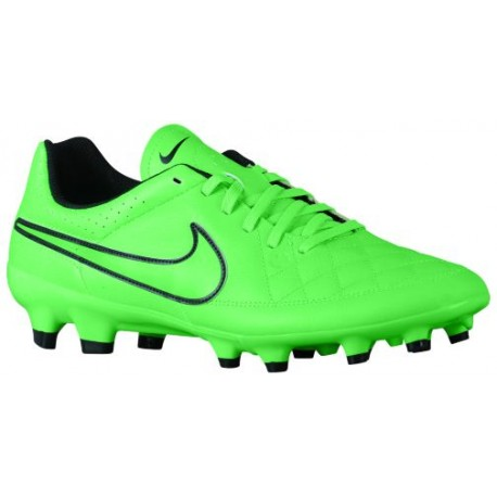 cc46caff58e7b Nike Tiempo Genio Leather FG - Men's - Soccer - Shoes - Green  Strike/Black/Green Strike-sku:31282330