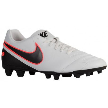 Nike Tiempo Rio III FG - Men's - Soccer - Shoes - Pure Platinum/Black