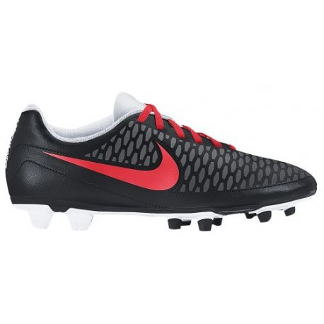 Womens Shoes Nike Magista Ola FG Black/White/Dark Grey/Bright Crimson