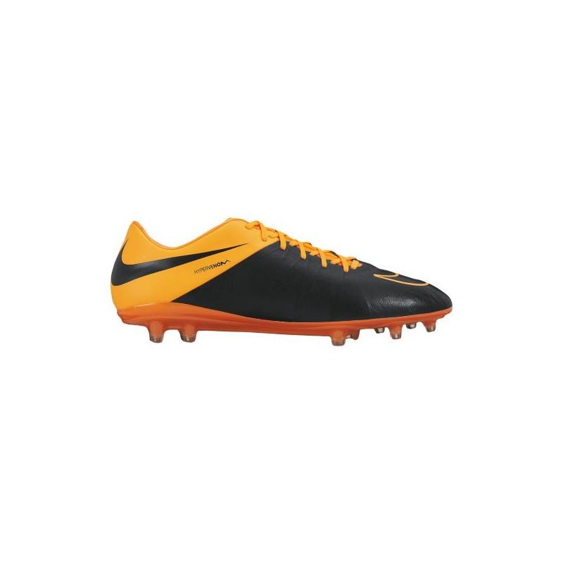 39e5d6276 Nike Hypervenom Phinish Leather FG - Men s - Soccer - Shoes - Black Total  Orange ...