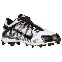Nike Hyperdiamond Keystone - Girls' Grade School - Softball - Shoes - White/Black/Volt-sku:84681107