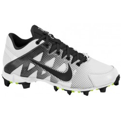 Nike Hyperdiamond Keystone - Women's - Softball - Shoes - White/Volt/Black-sku:84680107